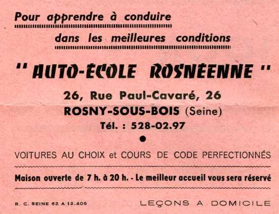 Auto Ecole Rosny Sous Bois u2013 Myqto com # Auto Ecole Rosny Sous Bois