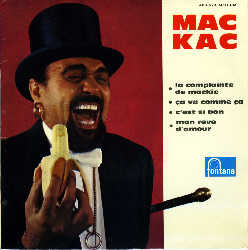 MAC KAC et son ROCK AND ROLL Ep_mac_kac_19607890