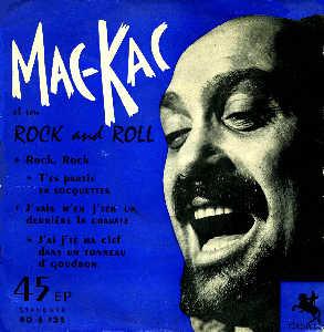 MAC KAC et son ROCK AND ROLL Ep_mac_kac_bleu7860