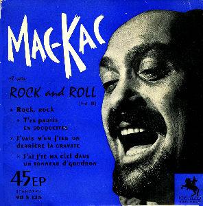 MAC KAC et son ROCK AND ROLL Ep_mac_kac_bleu7880