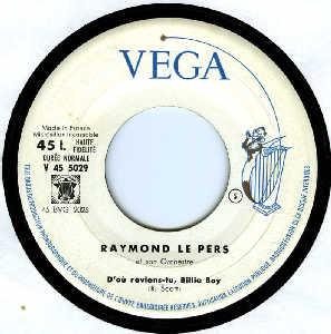 Raymond Le Pers Et Son Orchestre - La Saint Vaurien
