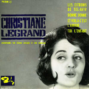 <b>CHRISTIANE LEGRAND</b> EP BARCLAY 70358 - legrand_c__donne_donne6214