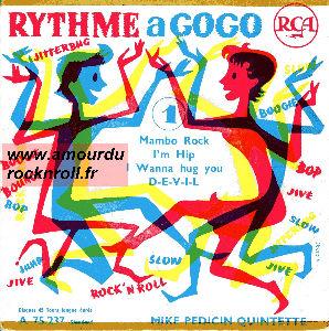 Mike Pedicin Quintet - I'm Hip / I Wanna Hug You, Kiss You, Squeeze You