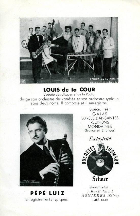 Pépé Luiz Et Son Orchestre D'Amerique Latine* - Parisiens Dormez - Clair De Lune À Rio